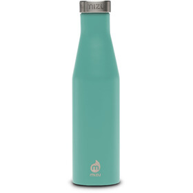 MIZU S6 Insulated Bottle with Stainless Steel Cap 600ml, enduro spearmint